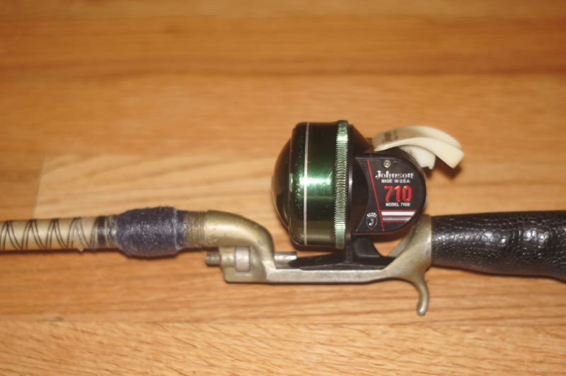 The Golden Age Of Spin Casting Fishing Reels And Green